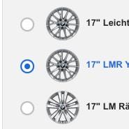 BMW Auswahl Felgen