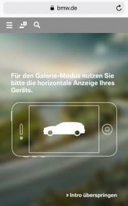 BMW Mobil Intro