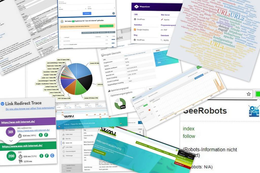 Website Tools Collage